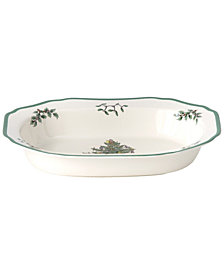 Spode Dinnerware, Christmas Tree Open Vegetable Bowl