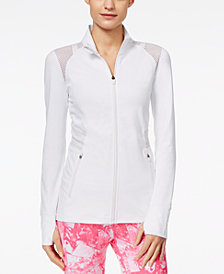 Ideology Mesh-Trim Performance Jacket, Created for Macy's