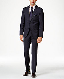 HUGO Men's Navy Extra Slim-Fit Suit Separates