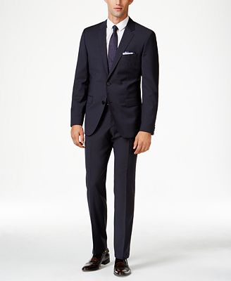hugo mens navy extra slimfit suit separates suits