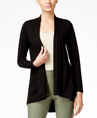 Vince Camuto Open-Front High-Low Cardigan - Sweaters - Women - Macy's