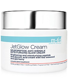 m-61 by Bluemercury JetGlow Cream Neuropeptide Anti-Wrinkle Retexturizing Glow Cream, 1.7 oz