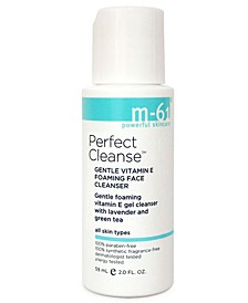 Perfect Cleanse - Travel Size Gentle Vitamin E Foaming Face Cleanser, 2 oz