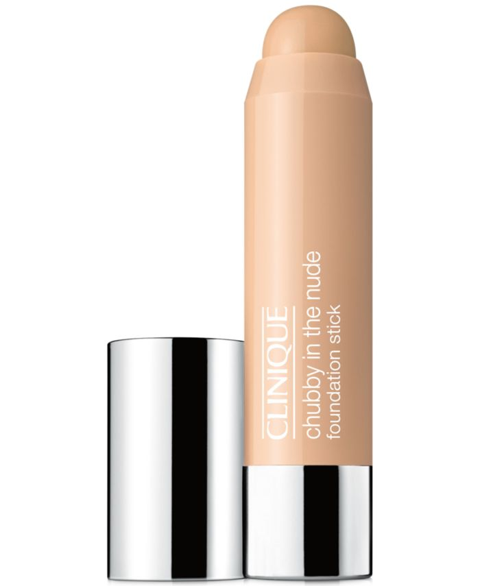 Clinique Chubby in the Nude Foundation Stick, 0.21 oz. & Reviews - Foundation - Beauty - Macy's