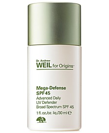 Dr. Andrew Weil for Origins Mega-Defense UV defender SPF 45