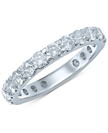 Diamond Eternity Band (2 ct. t.w.) in 14k White Gold