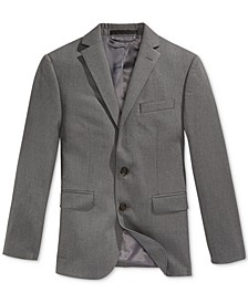 Pinstripe Suit Jacket, Husky Boys