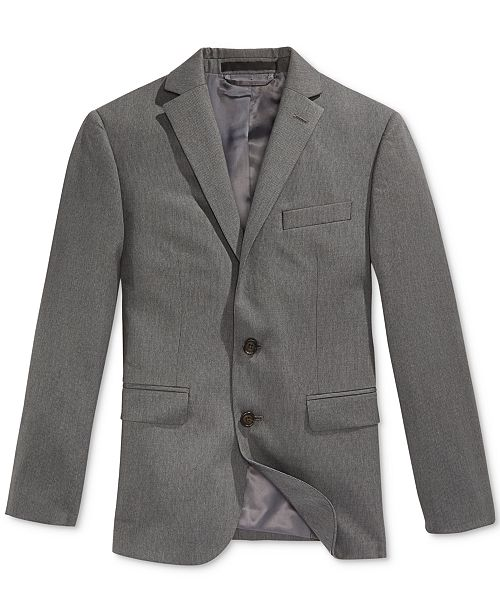 Lauren Ralph Lauren Pinstripe Suit Jacket, Husky Boys