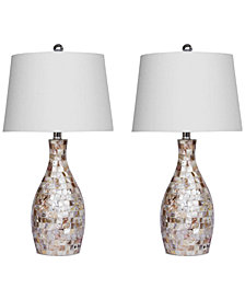 Abbyson Living Set of 2 Chantal Table Lamps