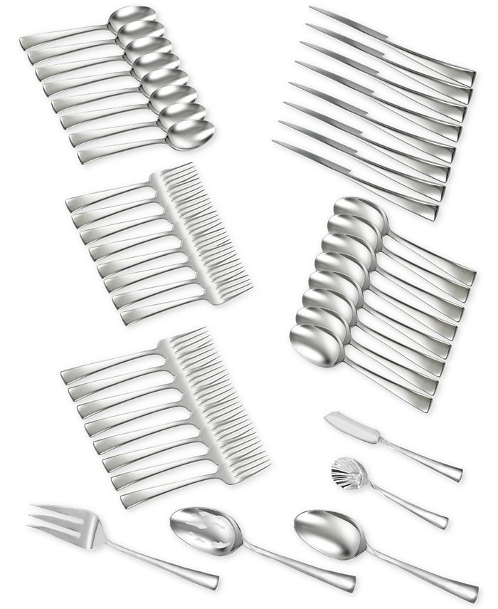 J.A. Henckels - TWIN® Brand Bellasera 18/10 Stainless Steel 45-Pc. Flatware Set, Service for 8