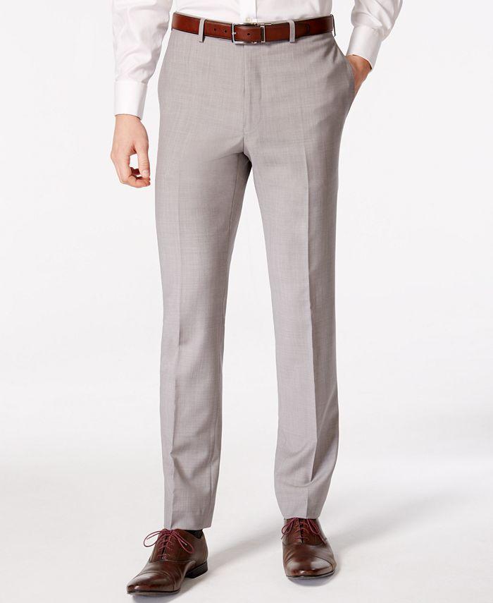 Calvin Klein - Men's Solid Classic Fit Pants