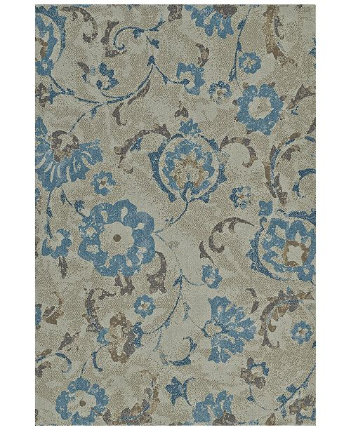 "Dalyn Mosaic Cottage Linen 7'10"" x 10'7"" Area Rug"