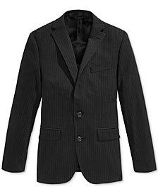 Lauren Ralph Lauren Pinstripe Jacket, Big Boys Husky