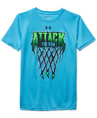 Under Armour Boys 39 Attack The Rim T Shirt Shirts Tees