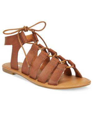 Wanted Ghillie Lace-up Gladiator Sandals Women