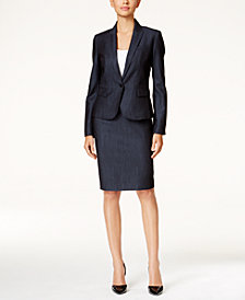 Anne Klein Denim Suiting