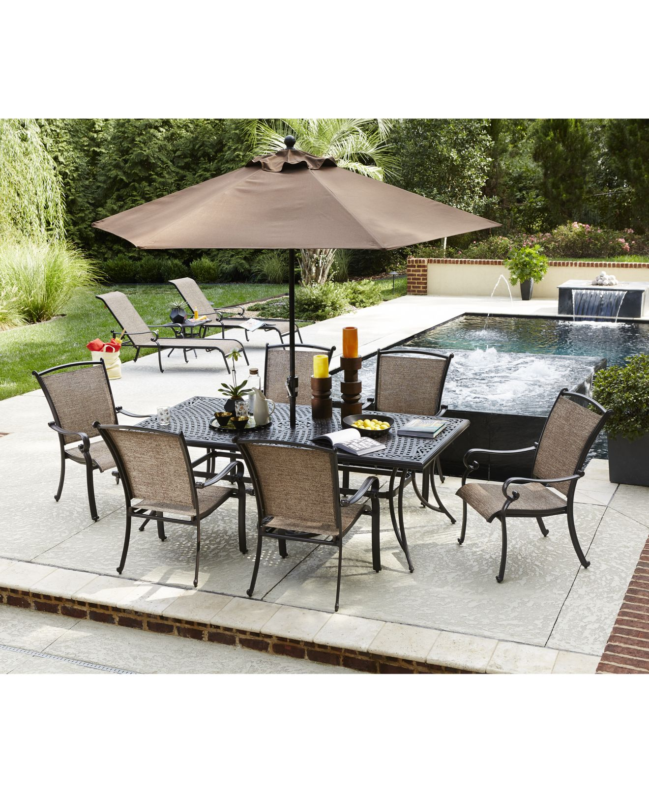 Cast Aluminum Outdoor Patio Furniture Macy s