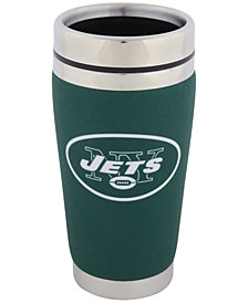 Hunter Manufacturing New York Jets 16 oz. Stainless Steel Travel Tumbler