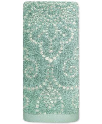 Lenox French Perle Groove Fingertip Towel