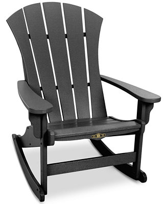 Sunrise Adirondack Rocking Chair Quick Ship Furniture Macy 39 S