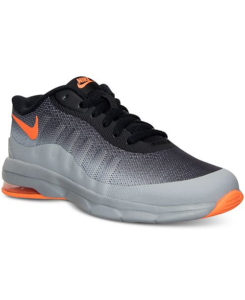 Nike Big Boys  Air Max Invigor Running Sneakers from Finish Line ... b20a18b3c