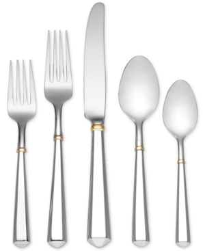 kate spade new york 5-Pc. Gold Todd Hill Place Setting