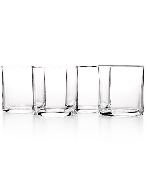 The Cellar Everyday Collection 4-Pc. Rika Double Old-Fashioned Glasses Set, Created for Macy's