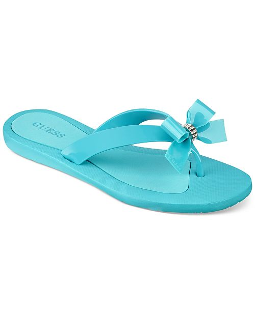 5fa7c65e9f9f83 GUESS Women s Tutu Sandals   Reviews - Sandals   Flip Flops ...