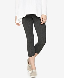 Skinny Cropped Maternity Leggings