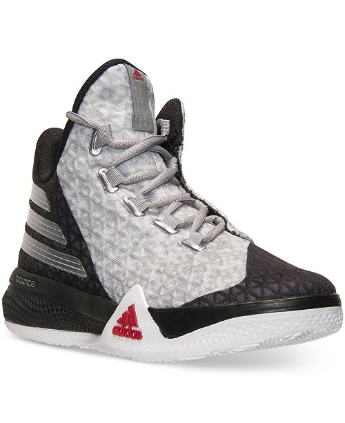 339e899b1aae adidas Big Boys  Light  Em Up 2 Basketball Sneakers from Finish Line ...