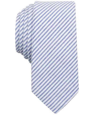 Original Penguin Men's Trevini Striped Skinny Tie