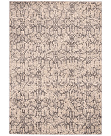 "CLOSEOUT! Kelly Ripa Home Origin KRH11 Ivory/Grey 7'9"" x 10'10"" Area Rug"