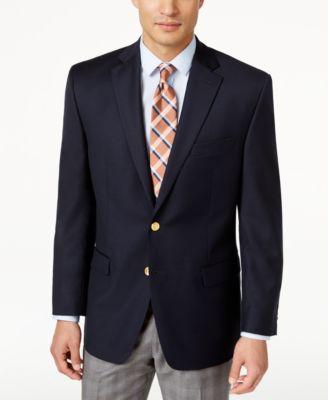 d191295b80e5 Lauren Ralph Lauren Total Comfort Blazer   Reviews - Blazers   Sport Coats  - Men - Macy s