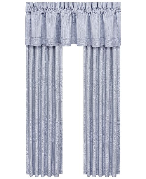 J Queen New York  Wilmington Window Valance