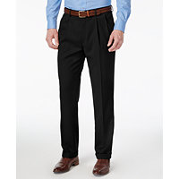 Louis Raphael Men's Straight-Fit Double-Pleated Dress Pants (Multi Colors)
