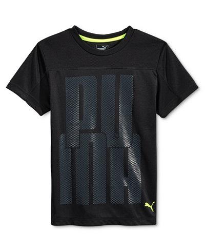 Puma Boys 39 Technical T Shirt Shirts Tees Kids Baby
