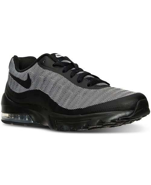 best sneakers 4cedc e6916 ... Nike Men s Air Max Invigor Premium Running Sneakers from Finish ...