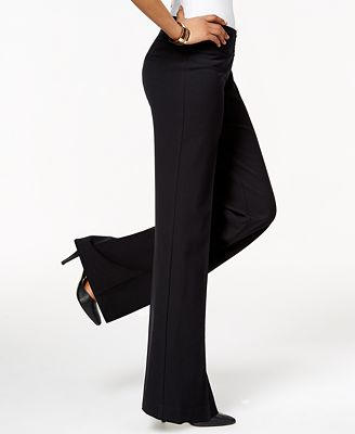 Style & Co Stretch Wide-Leg Pants, Created for Macy's - Pants ...