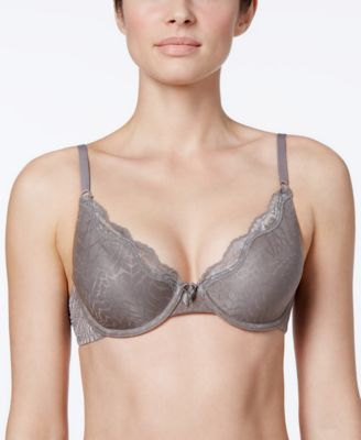 Image of Maidenform One Fab Fit Embellished Scallop Neckline Demi Bra 9471