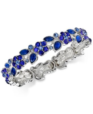 Image of 2028 Flower Petal Stretch Bracelet, a Macy's Exclusive Style