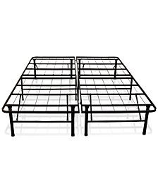 Sleep Trends Hercules 14-Inch Platform Metal Bed Frame, Assembly Required, Quick Ship, Created for Macy's- Full