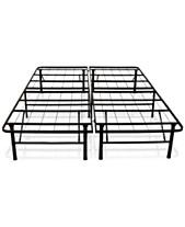 Sleep Trends Hercules Full 14 Inch Platform Metal Bed Frame
