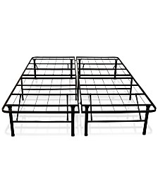 "Sleep Trends Hercules 14"" Platform Metal Bed Frame- Queen"