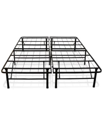 sleep trends hercules 14inch platform metal bed frame quick ship created for