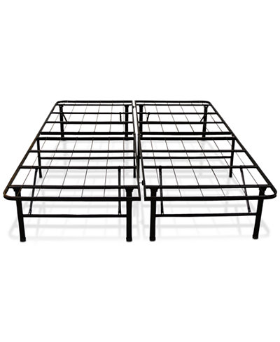 sleep trends hercules full 14 inch platform metal bed frame quick ship only