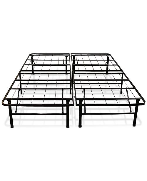 These Versatile Sleep Trends Hercules Platform Metal Bed Frames And Box Springs Are A Stylish Useful Alternative To Spring