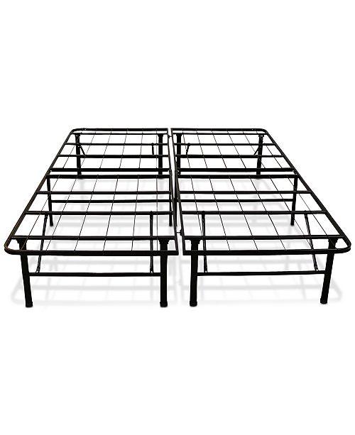 Sleep Trends Hercules California King 14-Inch Platform Metal Bed