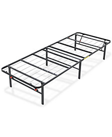Sleep Trends Hercules Twin 14-Inch Platform Metal Bed Frame, Assembly Required, Quick Ship, Created for Macy's