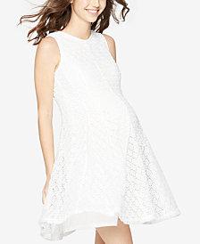 Taylor Maternity Eyelet Dress
