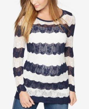 A Pea In The Pod Maternity Striped Sweater plus size,  plus size fashion plus size appare